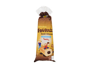 Brioches fourrées Goût chocolat